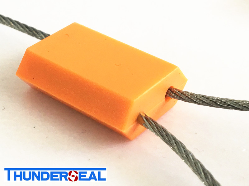 Pull tight zinc-plastic coated Cable seals