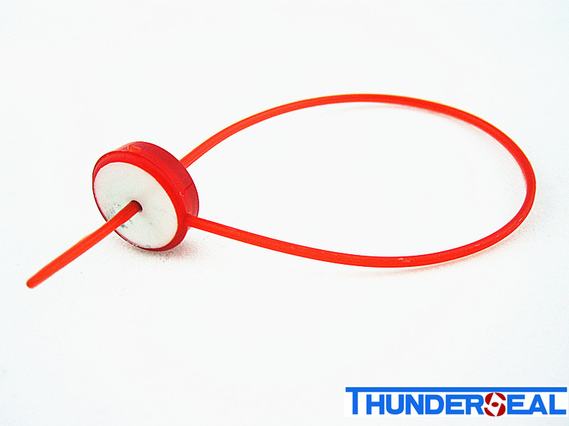 plastic lead seal with metal locking